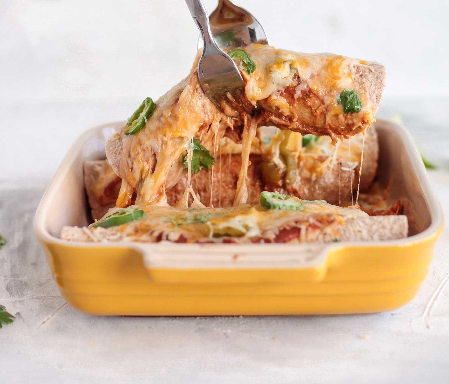 chicken panquecas, brazilian chicken enchiladas