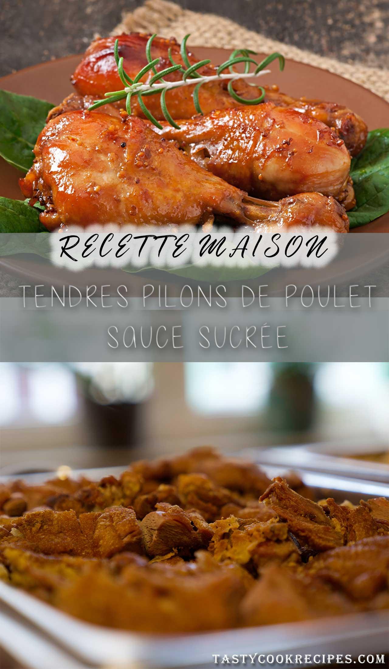 poulet sauce coca-cola, recette de poulet au four, poulet sucrée