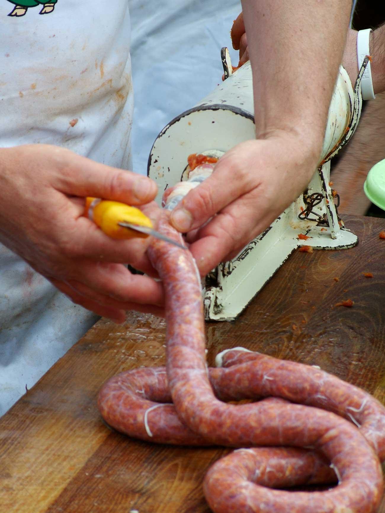 beef sausage recipe